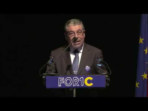 Discurso de Manuel Machado na sessão de abertura do FOR1C