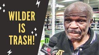 "Floyd Mayweather Sr.: ""Tyson Fury is nothing special, Deontay Wilder is trash!"""