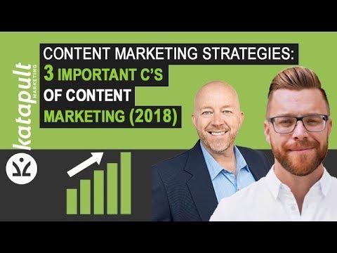 Content Marketing Strategies: 3 Important C's (2018) [Webcast #26] Michael Barber
