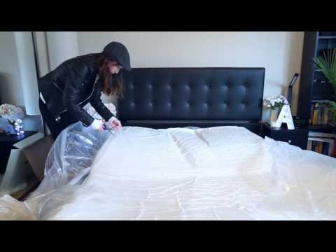 Lull Unboxing | Alice Comes Home to a Lull Bed Delivery