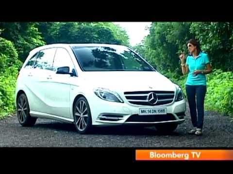 Mercedes B-Class India video review by Autocar India