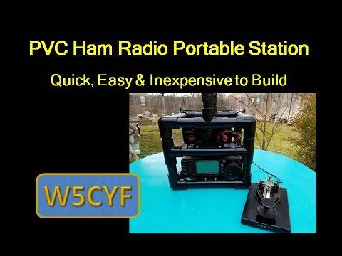PVC Portable Ham Radio Station-Easy And Inexpensive