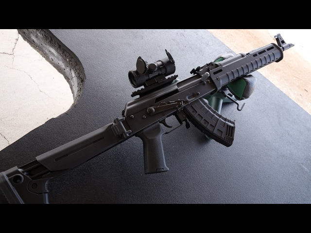 実弾射撃 RAS47 - AK47タイプライフル (RAS47 - AK47 Style Rifle)