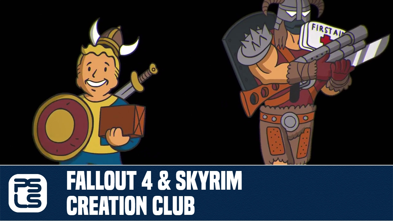 Creation Club Coming to Fallout 4, Skyrim Special Edition