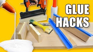 5 Quick Glue Hacks - Woodworking Tips and Tricks
