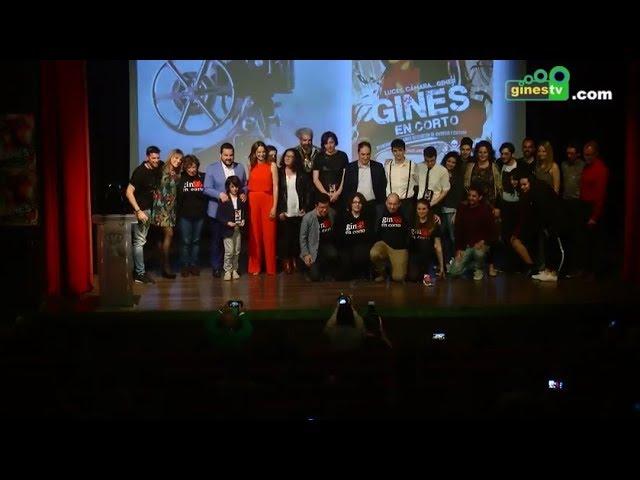 Gines en Corto 2018 - Gala de Clausura (COMPLETO)