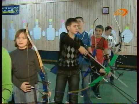 Тренировки по стрельбе из лука в хасавюрте