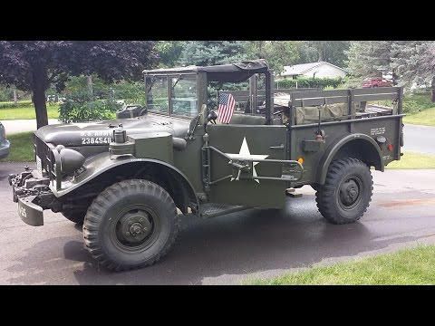 M37 - 1951 Dodge 3/4 ton weapons carrier...