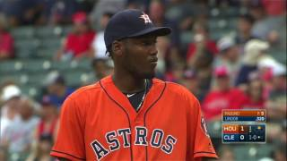 September 08, 2016-Houston Astros vs. Cleveland Indians