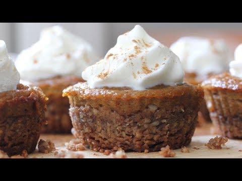 MINI PUMPKIN PIES | Dairy Free + Gluten Free Recipe