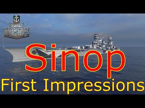 World of Warships- Sinop First Impressions
