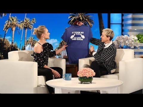 Kristen Bell † s Sweet 60th Birthday Present for Ellen