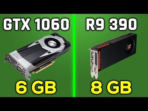 GTX 1060 6GB vs R9 390 - 1080p & 2160p/4K Comparison