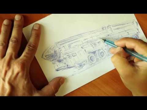 Как нарисовать военную технику Тополь М рисую ручкой Rush'n Attack NES 8bit Soundtrack