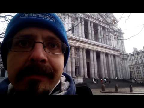 London Walk -Chancery Lane to Trafalgar Square - 13th Jan 2017