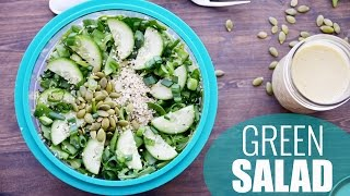 Green Goodness Detox Salad | Healthy Salad Recipe