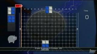 Lumines Supernova PlayStation 3 Gameplay - Mission Mode
