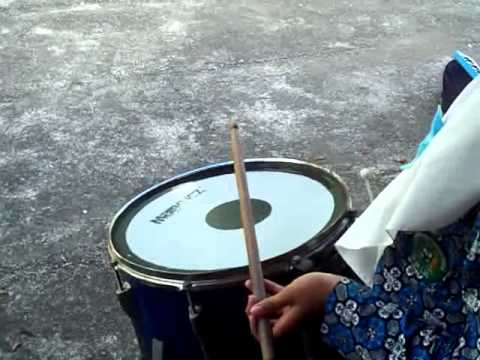 Tutorial Genderang/  Snare -  Indonesia Raya