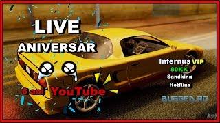 LIVE Aniversar- 6 ani de YouTube🥳 -Infernus VIP, 80kk, etc... | Blue Bugged SA:MP