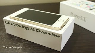 iPhone 5s (Gold 16GB) - Unboxing and Overview