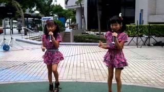 Jr 1万人のエイサー踊り隊 パレット久茂地前ステージ.