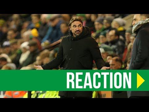 Norwich City 3-1 Sheffield Wednesday: Daniel Farke Reaction