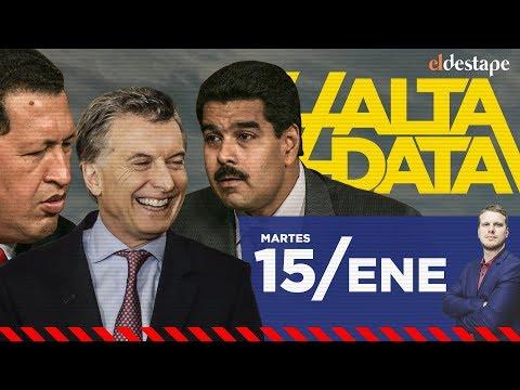 Los negocios de Macri con Venezuela | #AltaData, todo lo que pasa en un toque