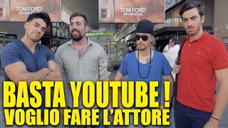 BASTA YOUTUBE, VOGLIO FARE L'ATTORE ! - hmatt feat. TheShow thumbnail