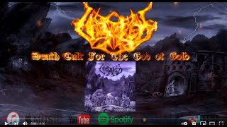 UNSAVED - DEATH CULT FOR THE GOD OF GOLD -  LYRIC VIDEO