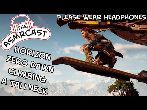 ASMR Gaming: Horizon Zero Dawn - Climbing A Tallneck In Colo