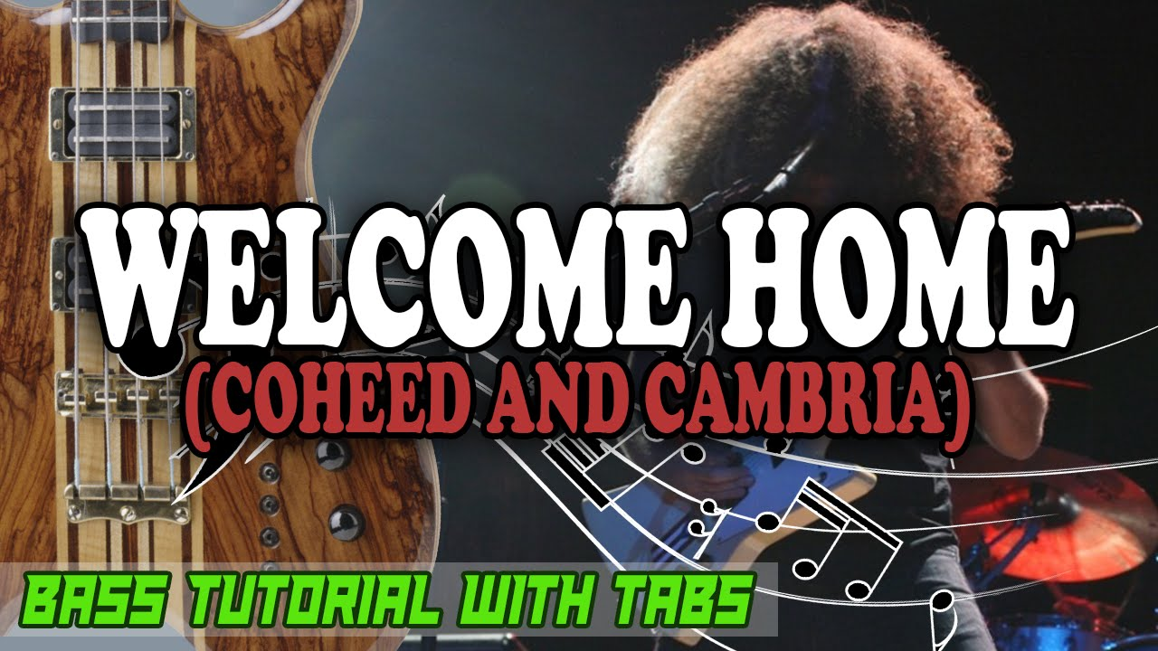 how to play welcome home coheed and cambria