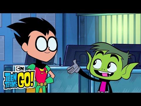 Teen Titans Go | The Titans Write Their Own Episode | Cartoon Network