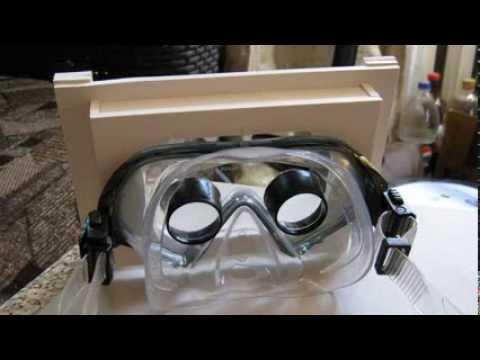 Очки шлем виртуальной реальности для планшета разноцветные наклейки комплект к квадрокоптеру спарк