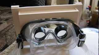 Очки виртуальной реальности из планшета