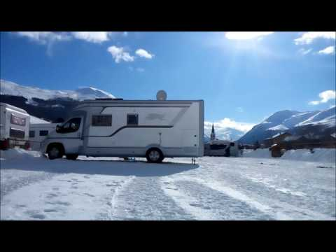Laika Kreos 5010 RV Trip to Livigno 2017