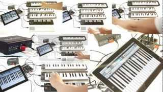 iConnectMIDI, Multiple Keyboards and an iPad