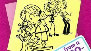 Rachel Renee Russell on DORK DIARIES #2....