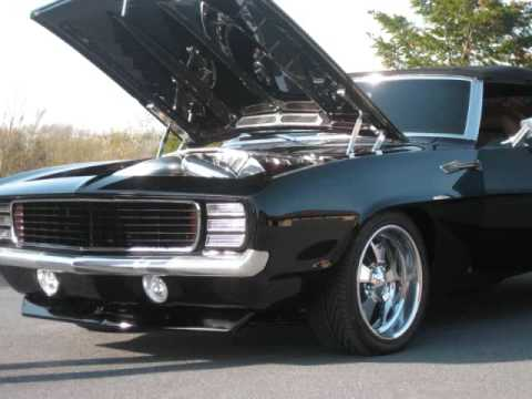 Zeus Carlevale Custom Cars 1300 hp 707 cubic inch Camaro. Updated video burn outs and drive-by