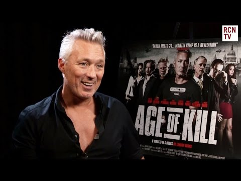 Martin Kemp Interview Age of Kill