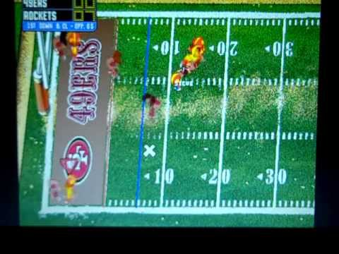 Backyard Football 1999 Rockets vs. 49ers - YouTube