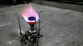 Модернизация мультитопливной горелки
