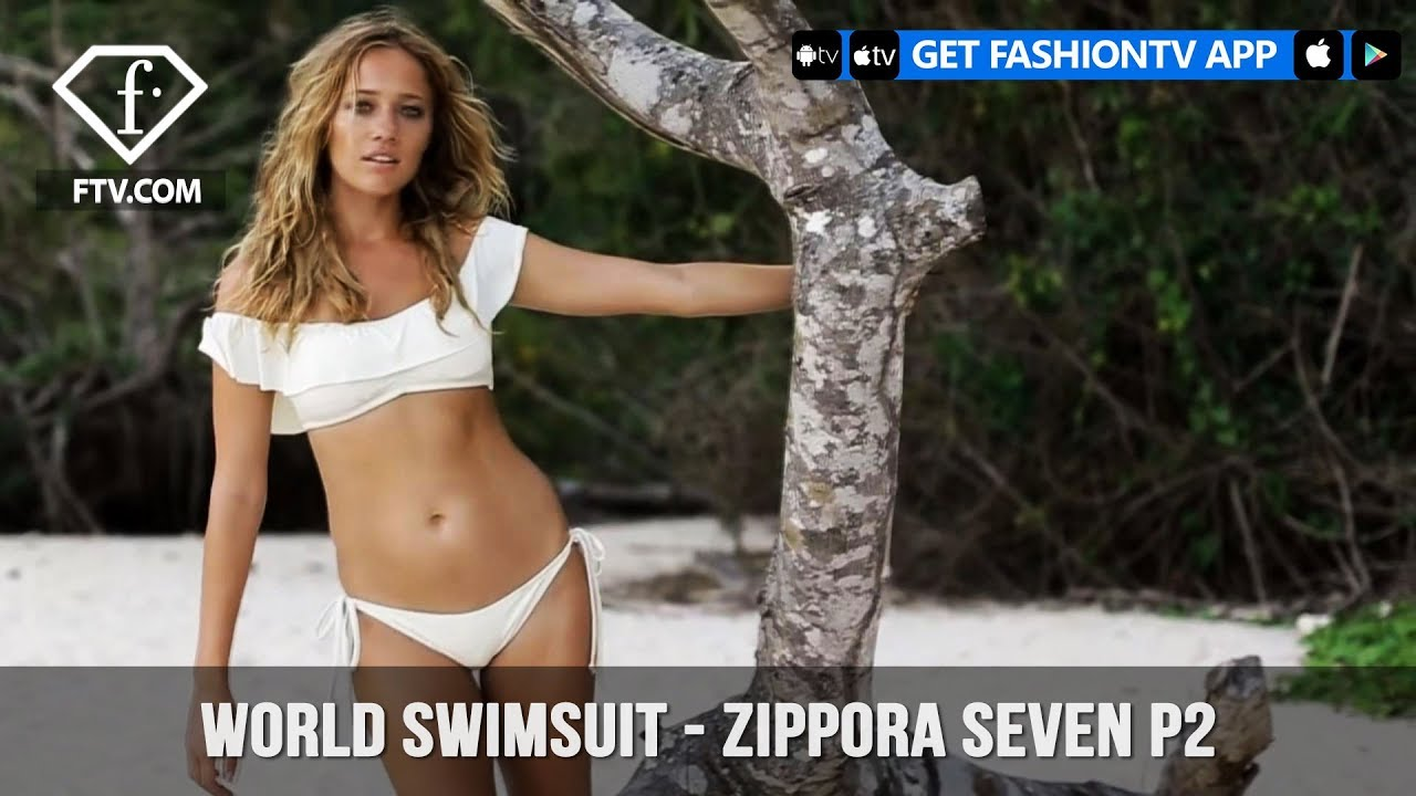 eaf1af5a50 World Swimsuit Presents Model Zippora Seven on Stunning Malaysian Beach