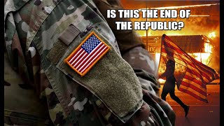 MIRROR: Will Election Day MARK the END of USA as we know it? Military DEPLOYED in States for Civil U