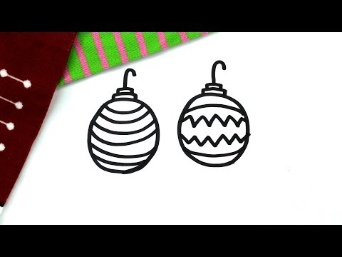Christmas Necklace Coloring Page