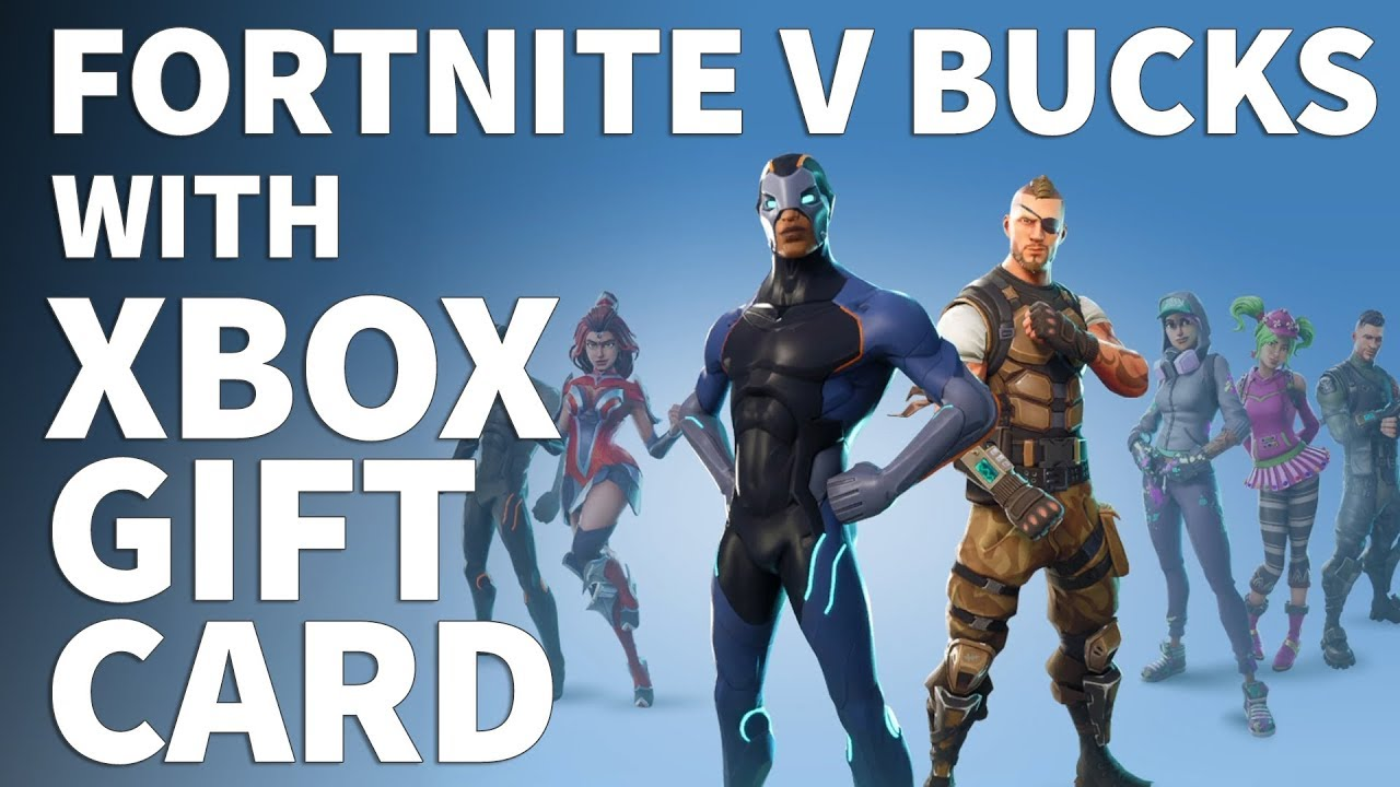 Can I Buy V Bucks With An Xbox Gift Card How To Buy Fortnite V Bucks With Xbox Gift Card Money -