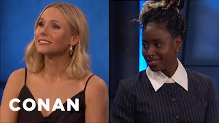 """""""Veronica Mars"""" Is Kristen Bell & Kirby Howell-Baptiste's Third Project Together - CONAN on TBS"""