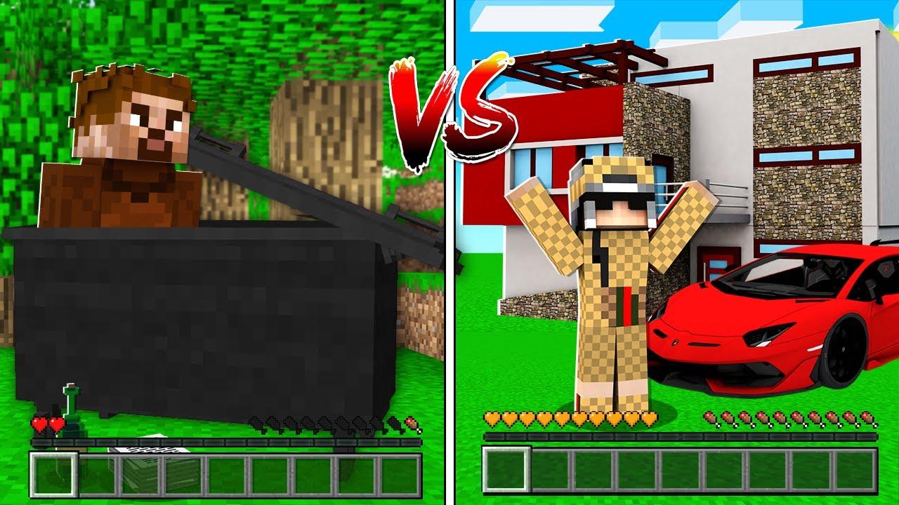 Download FAKİR HAYAT VS ZENGİN HAYAT #2 😱 - Minecraft