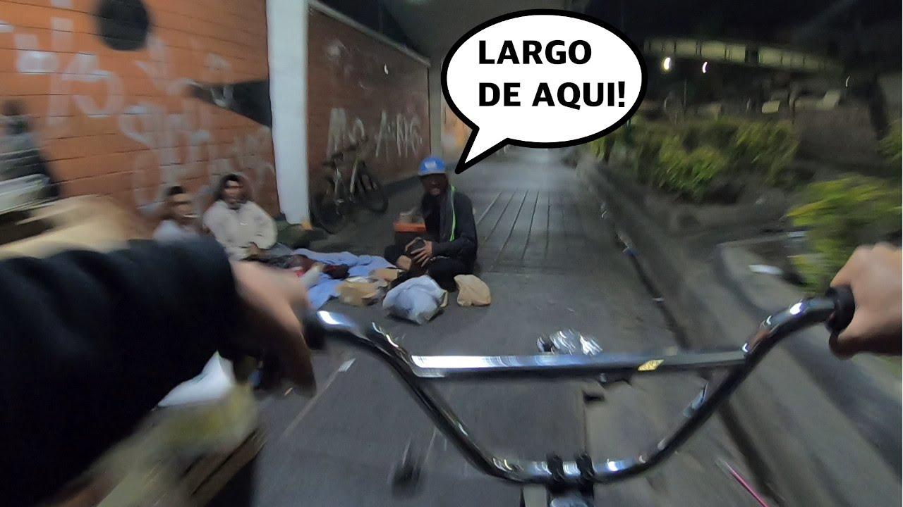 Download PEDALEANDO DE MADRUGADA POR EL BARRIO DE SAN JUAN DE DIOS A TODA VELOCIDAD EN BMX 3:AM 😱