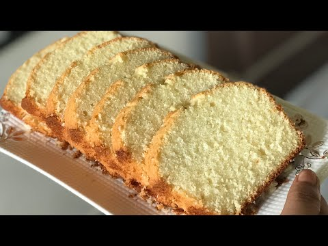 Soft and buttery vanilla tea cake recipe plain cake recipe