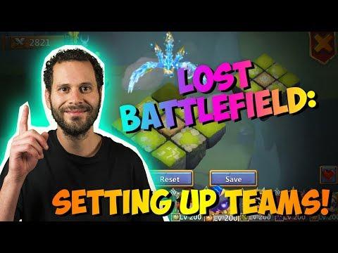 JT's Main Setting Lost Battlefield Teams Up With RIPPER Castle Clash